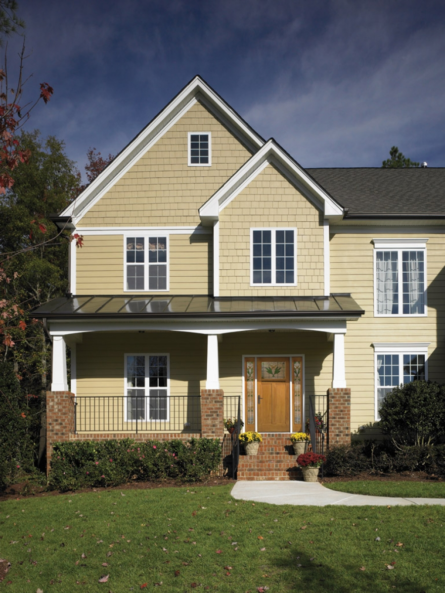 Ohio architect specifies therma tru doors for community for Therma tru classic craft