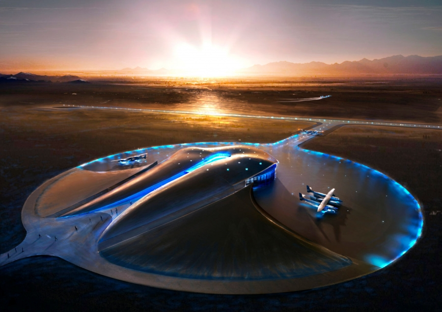 Foster + Partners' Spaceport America Terminal and Hangar Facility