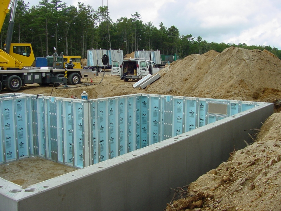 Superior walls xi precast concrete foundation system for Poured wall foundation