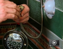How to Install a Handheld Shower Fixture