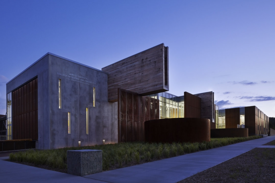 Ross Barney Architects: The University of Minnesota Duluth's James I. Swenson Civil Engineering Building