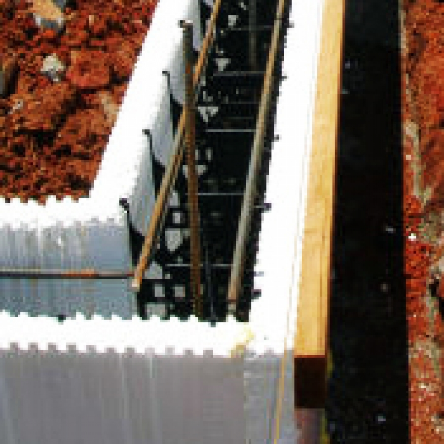 Insulating concrete forms buildipedia for Concrete foam walls