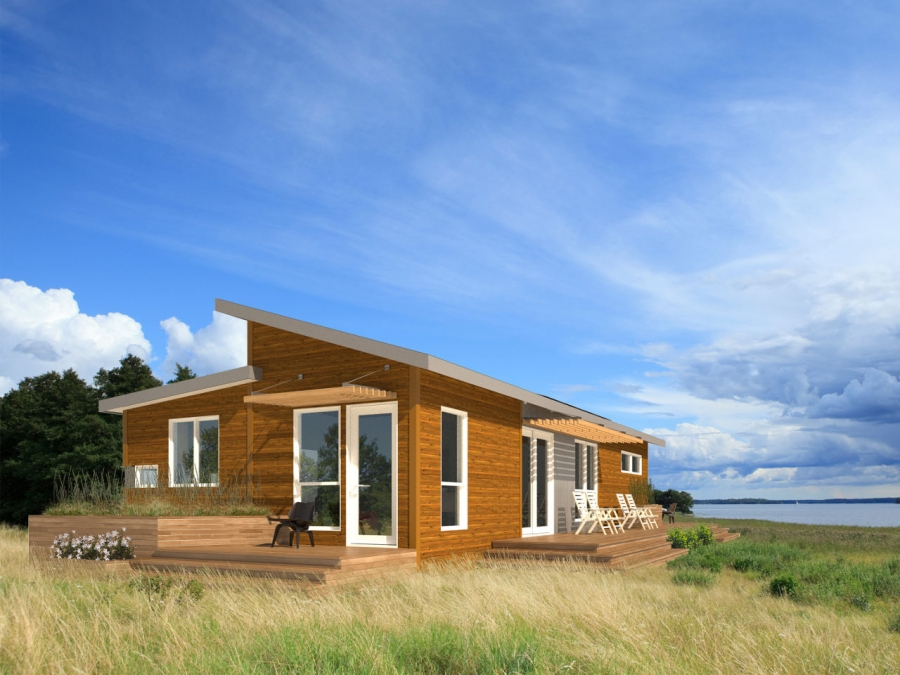 Terrific Eco Friendly Prefab Homes Unfold The Possibilities Home Interior And Landscaping Synyenasavecom