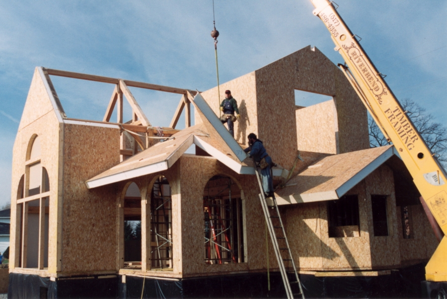 Structural insulated panels vs conventional framing for Sips panels canada