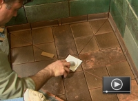 How to Tile a Custom Bathroom