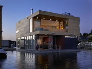 House of the Month: Vandeventer + Carlander Architects' Lake Union Floating Home