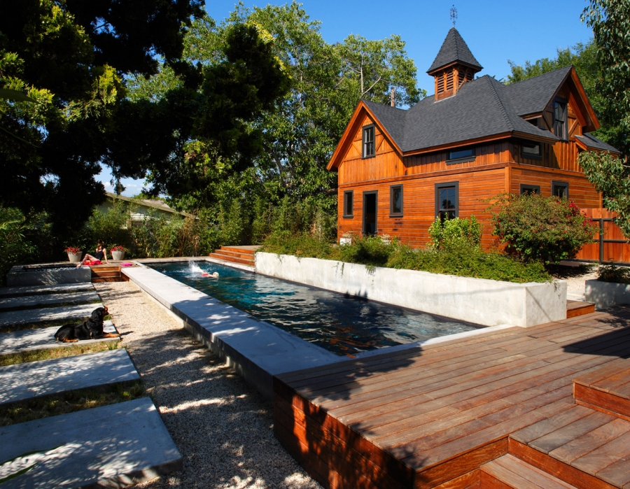 Historic Preservation: From Carriage House to Pool House