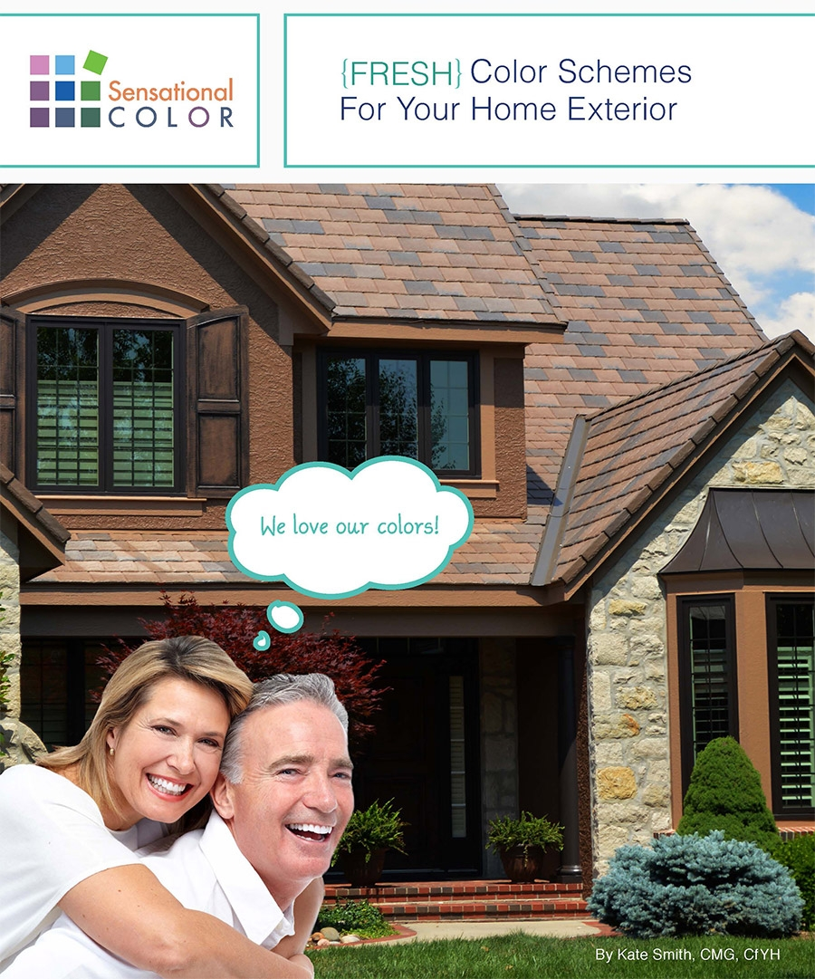 "Colorful Fypon® Trim Pieces Highlighted in New ""FRESH Color Schemes for Your Home Exterior"" Online Guide"
