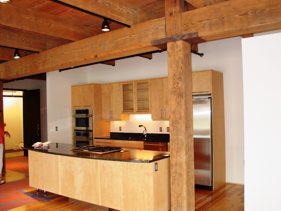 Heavy timber construction buildipedia for Casework construction