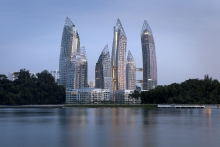 Reflections at Keppel Bay by Studio Daniel Libeskind