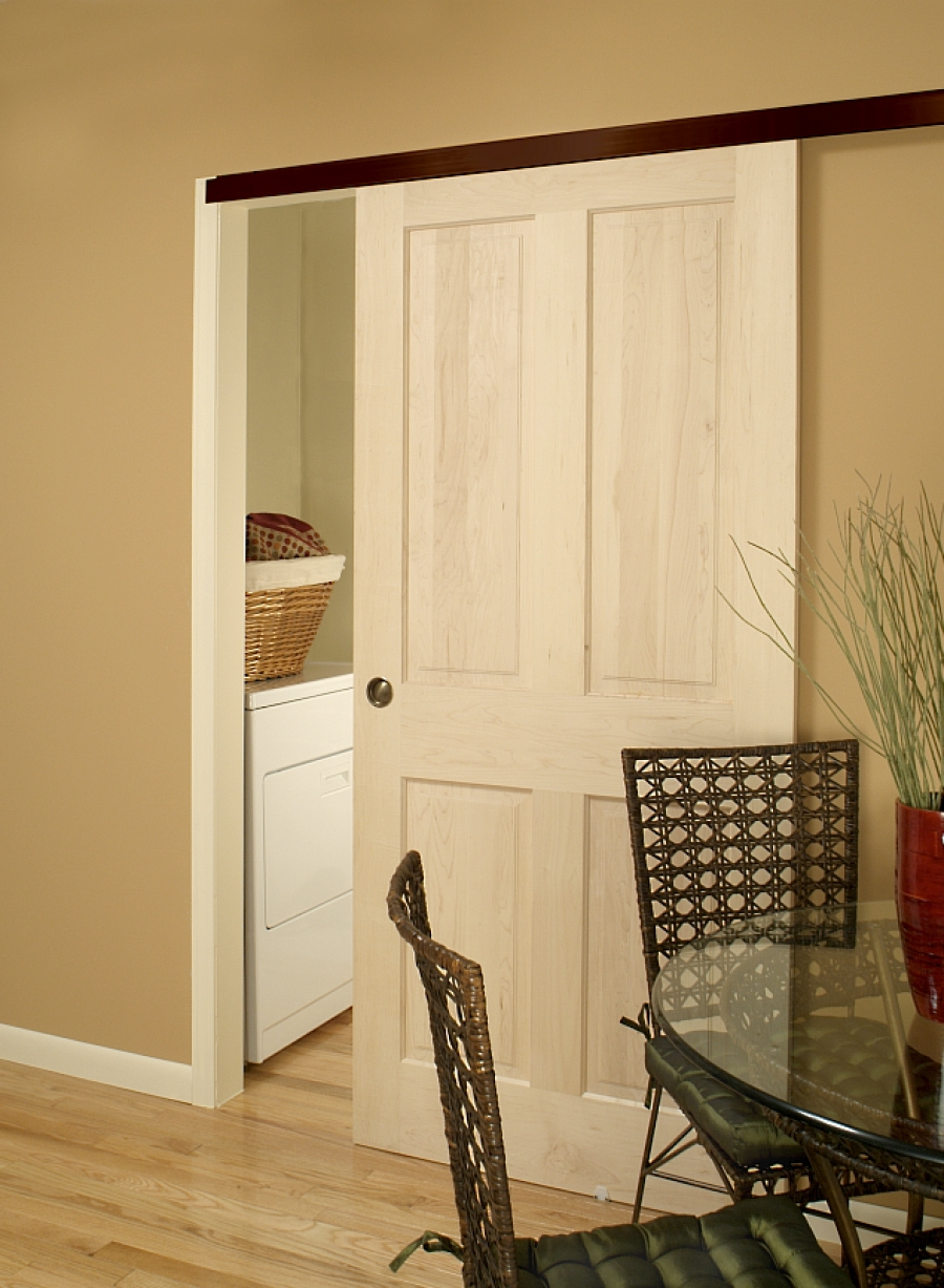 Installation instructions for pocket door frame from for Door installation