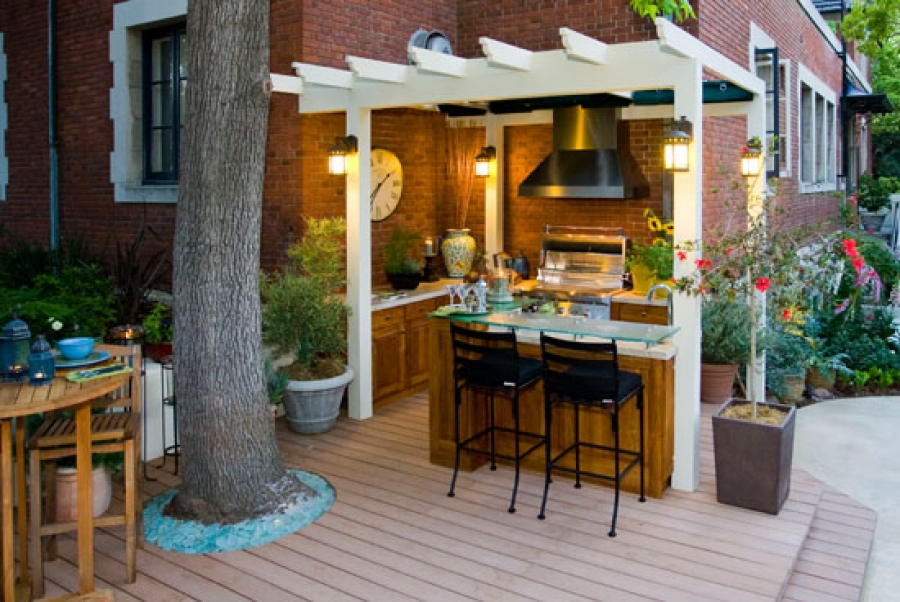Talking About Outdoor Kitchens