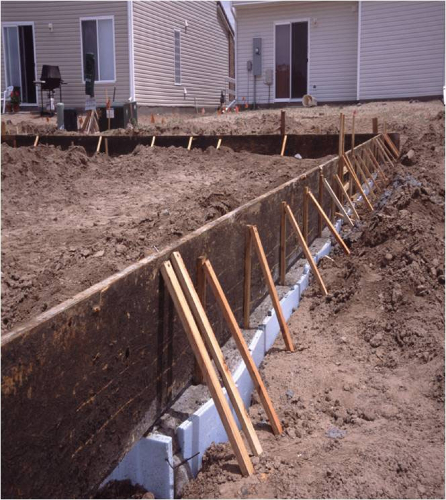 House foundation construction methods for Basement foundations construction
