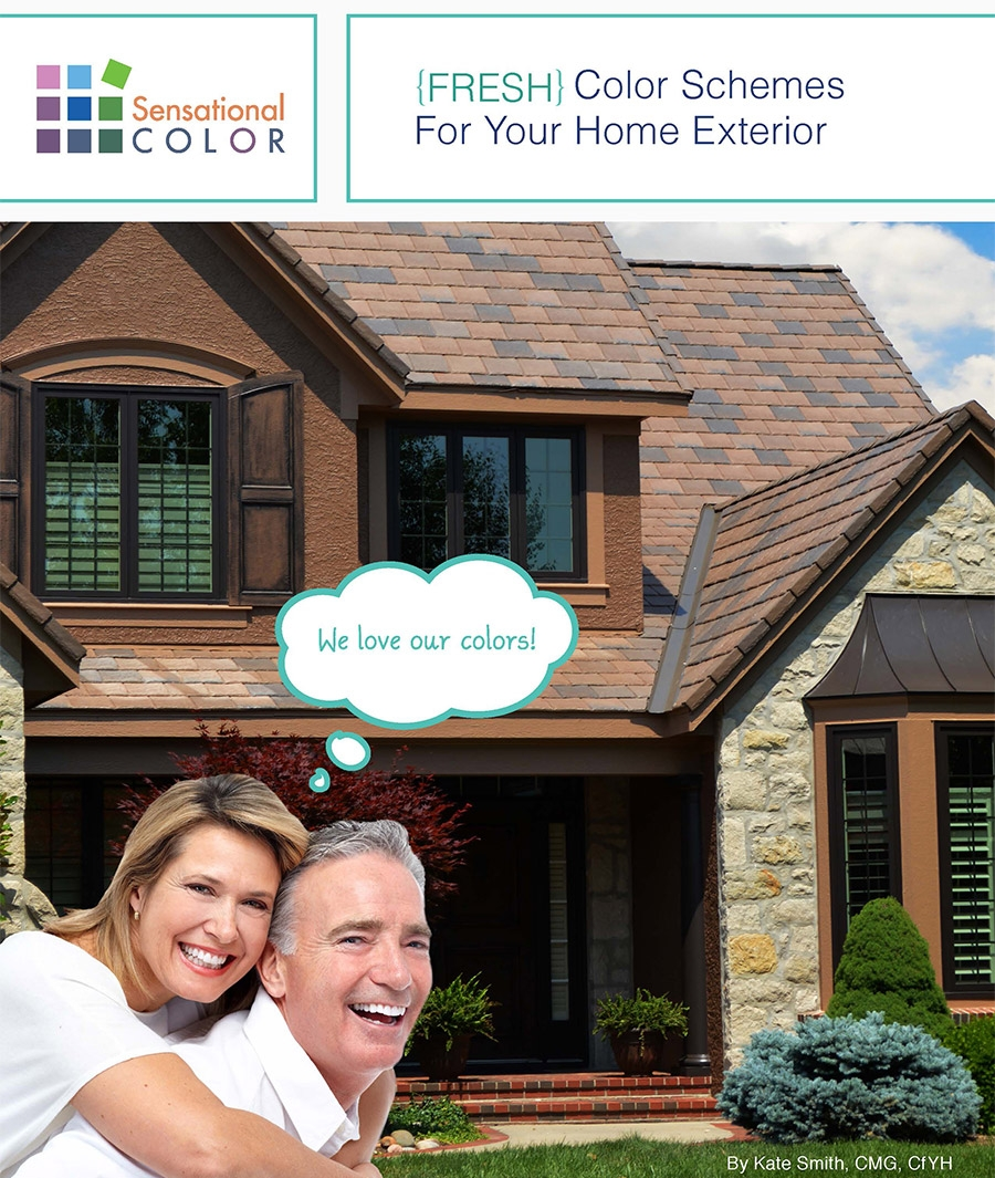 Colorful simonton windows featured in fresh color schemes Color your home exterior online