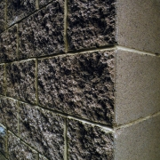 Split-Faced Concrete Unit Masonry