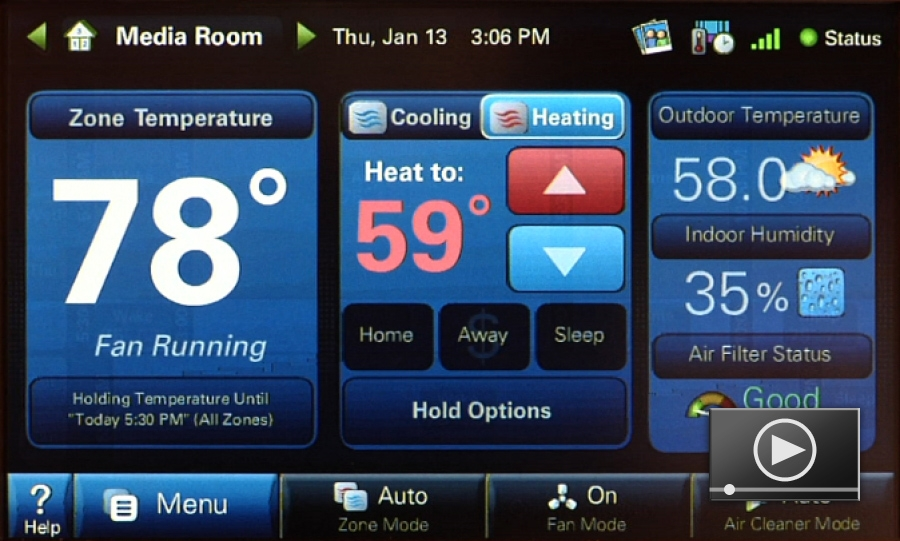 Product Spotlight: Trane ComfortLink II Thermostat