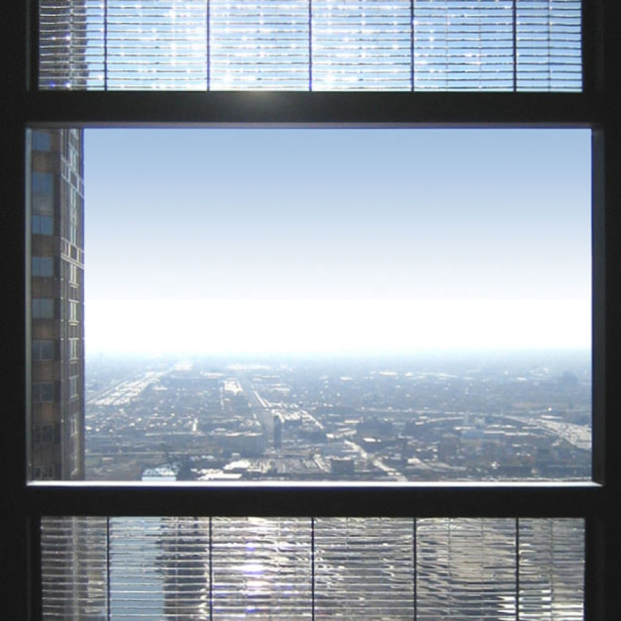 Solar windows on the willis tower buildipedia for Energy windows
