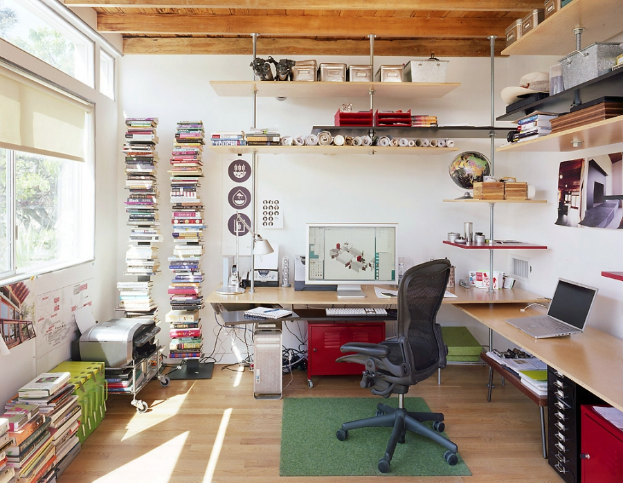The Home Office A Balance Of Function And Personal Style