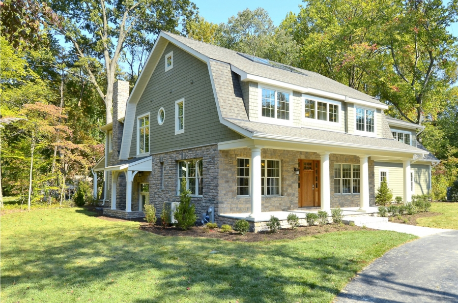 Maryland green designer show home features superior walls for Precast concrete home designs