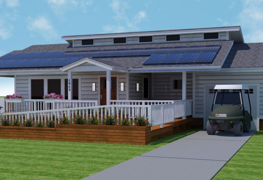 2011 Solar Decathlon: Purdue University's INhome