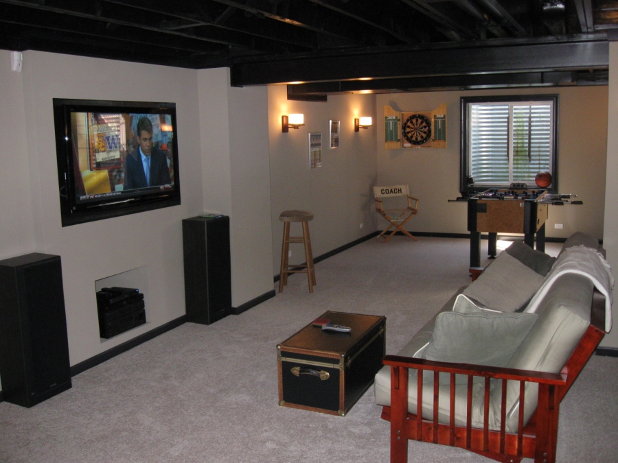 build your own man cave for 8 per square foot buildipedia. Black Bedroom Furniture Sets. Home Design Ideas