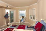 Oceanfront views are plentiful through StormBreaker Plus windows and patio doors.