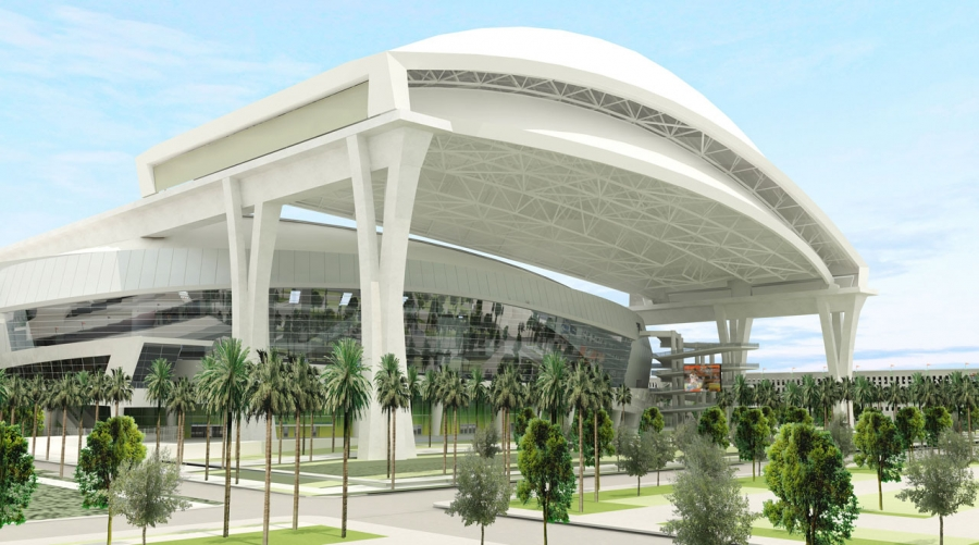 Moving Along in Miami: Florida Marlins Ballpark by Populous