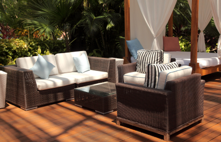 Trends and Tips: Outdoor Living Spaces - Buildipedia on Living Spaces Patio Set id=49463