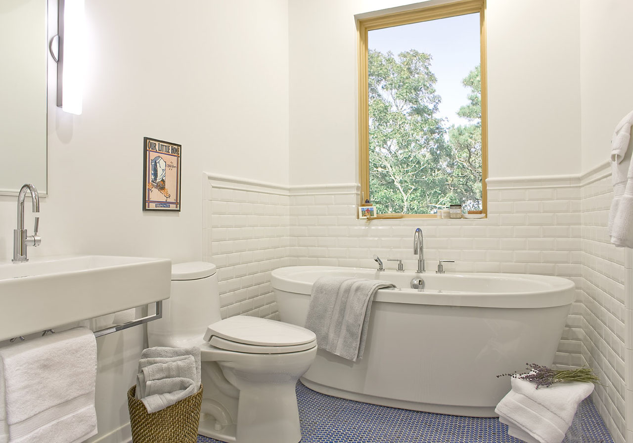 attic powder room ideas - Green Home of the Month English Residence by ZeroEnergy