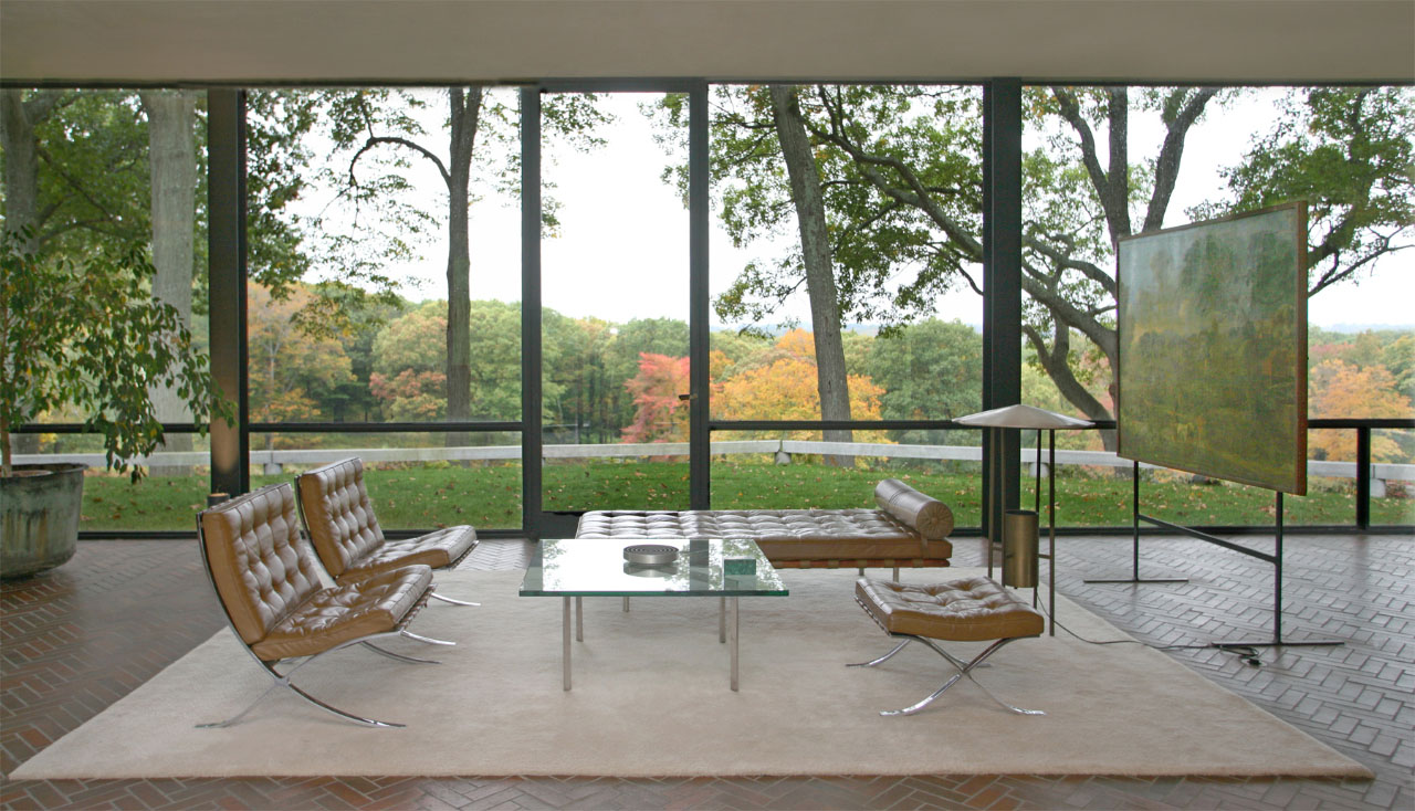 Philip Johnson Glass House through these photographer's eyes: the glass house, part